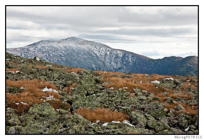 snow on Mt. Washington in September 2011